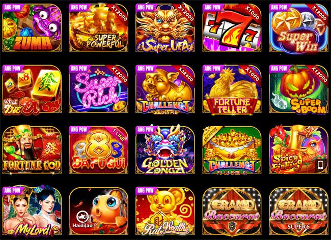 ตัวอย่างเกม UFA Slot มีให้เลือกมากกว่า 300 เกม
